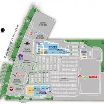 Plan of mall Lakeside Marketplace