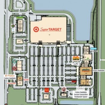 Plan of mall Lakeside Town Shops
