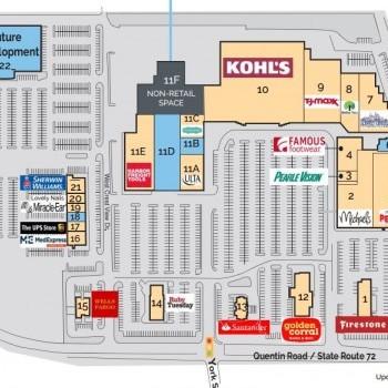 Plan of mall Lebanon Plaza