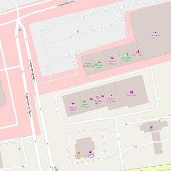 Plan of mall Liberty Tree Strip