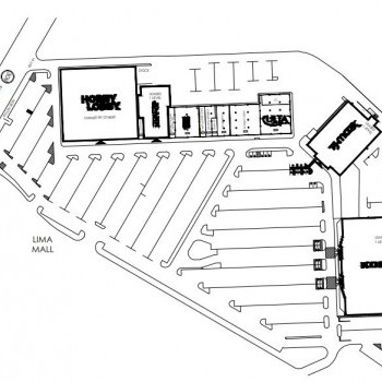 Plan of mall Lima Center