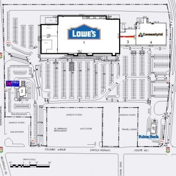 Plan of mall Lincoln Plaza