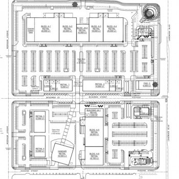 Plan of mall Long Beach Exchange