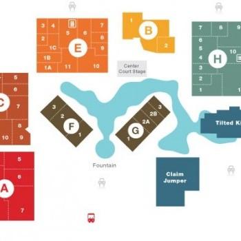 Plan of mall Long Beach Marketplace