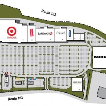 Plan of mall Long Gate shopping center
