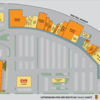 Plan of mall Longmeadow Shopping Center