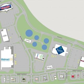 Plan of mall Macarthur Marketplace