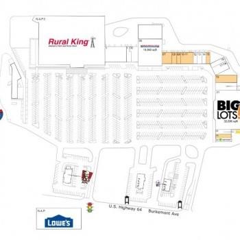Plan of mall Magnolia Plaza