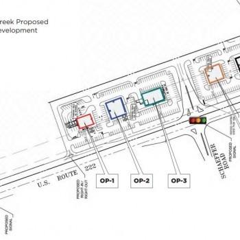 Plan of mall Maiden Creek Crossings