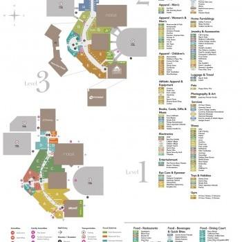 Plan of mall Mainplace Mall