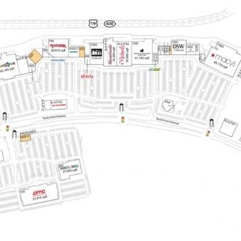 Plan of mall Mansell Crossing