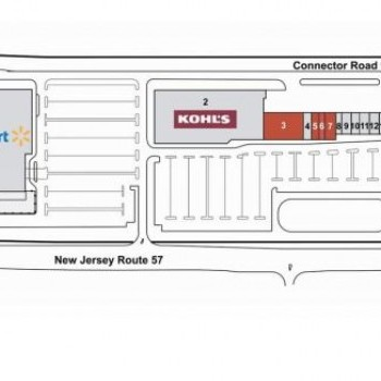 Plan of mall Mansfield Commons
