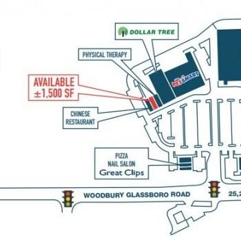 Plan of mall Mantua Square