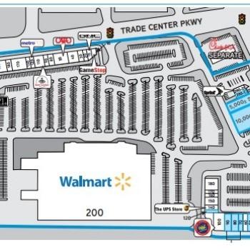 Plan of mall Marietta Trade Center