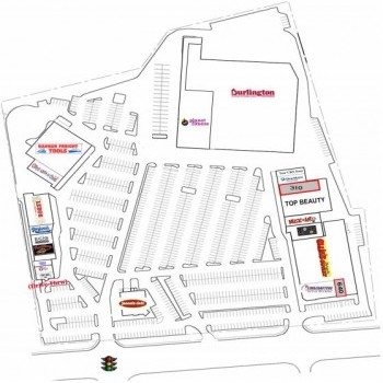 Plan of mall Market Square
