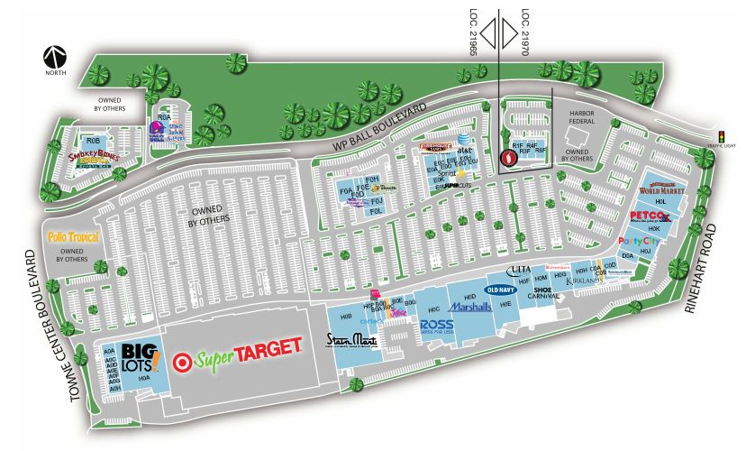 Florida Mall Store Map.Kirkland S In Marketplace At Seminole Towne Center Store Location