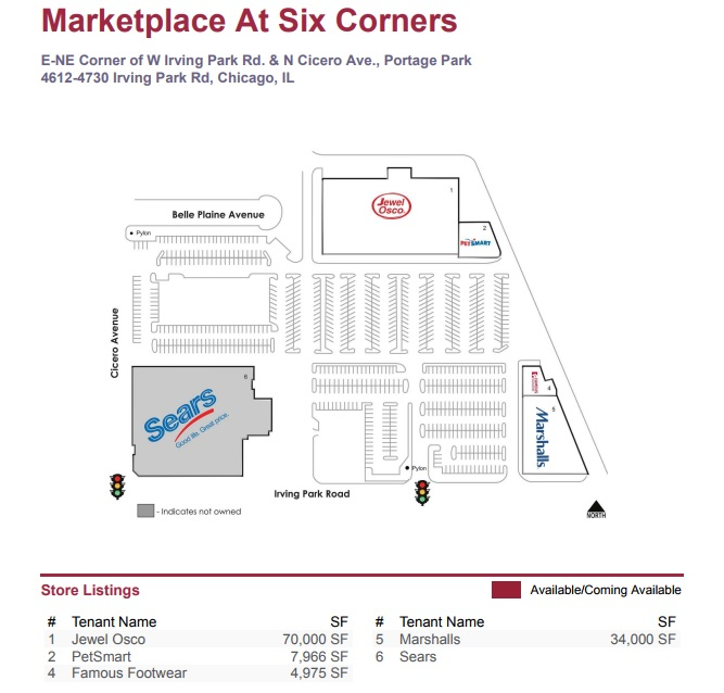TCF Bank in Marketplace at Six Corners - store location
