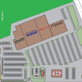Plan of mall Marketplace Center
