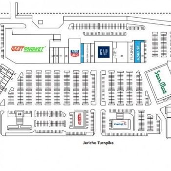 Plan of mall Mayfair Shopping Center