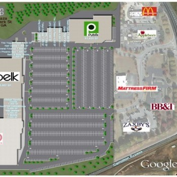 Plan of mall McIntosh Plaza