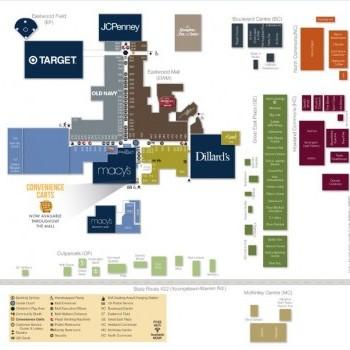Plan of mall McKinley Centre