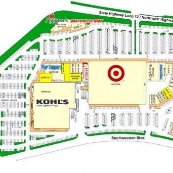 Plan of mall Medallion Center