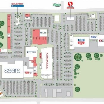Plan of mall Medford Center