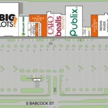 Plan of mall Melbourne Shopping Center