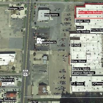 Plan of mall Mellor Park Mall