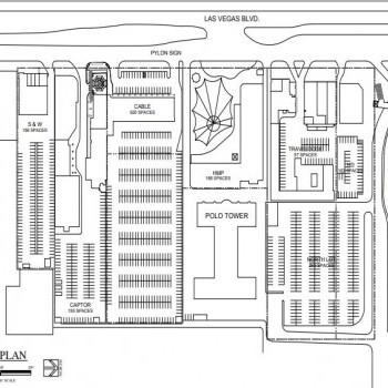 Plan of mall Metroflag