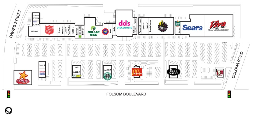 Dollar Tree Stores In Mills Shopping Center Store Location Plan