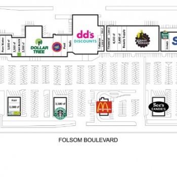 Plan of mall Mills Shopping Center