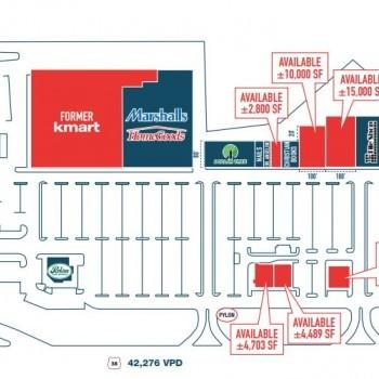 Plan of mall Moorestown Shopping Center