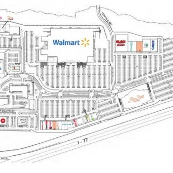 Plan of mall Mooresville Consumer Square