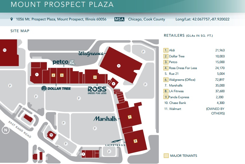 Mount Prospect Plaza - store list, hours, (location: Mt Prospect ...