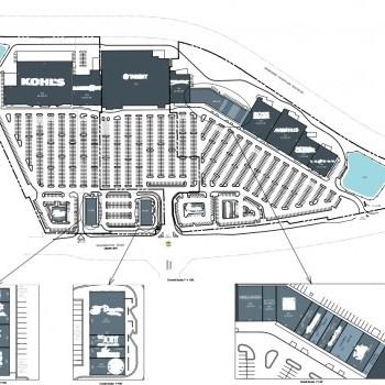 Plan of mall Mullins Crossing