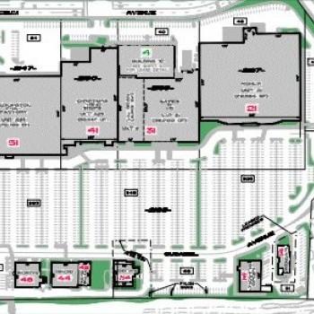 Plan of mall Nashua Mall & Plaza