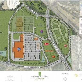 Plan of mall New Holland Market