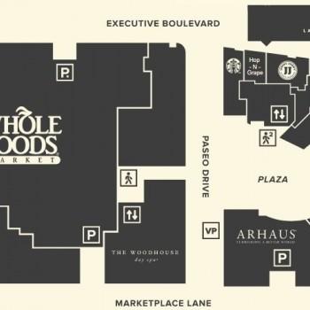 Arhaus Furniture In North Bethesda Market   Store Location Plan