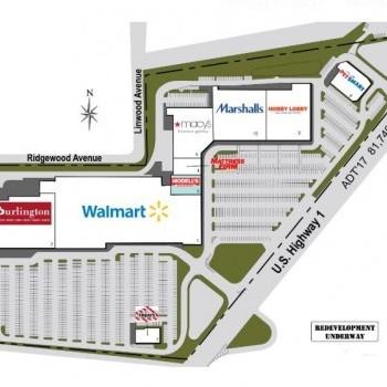 Plan of mall North Brunswick Plaza