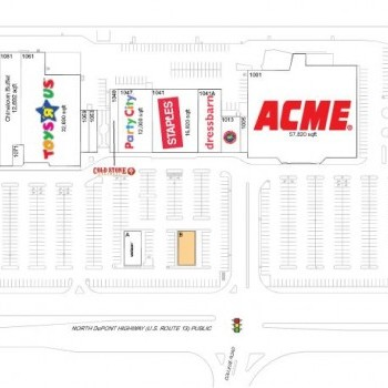 Plan of mall North Dover Shopping Center