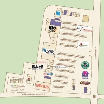 Plan of mall North Griffin Square