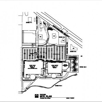Plan of mall North Orchard Plaza