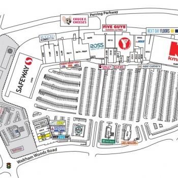 Plan of mall North Plaza