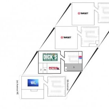 Plan of mall Northgate North