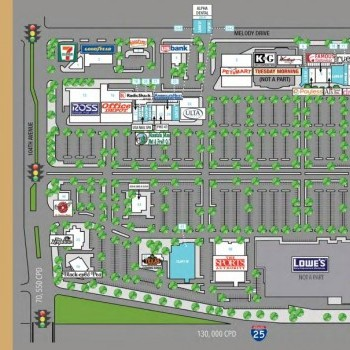 Plan of mall Northglenn Marketplace