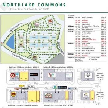 Plan of mall Northlake Commons