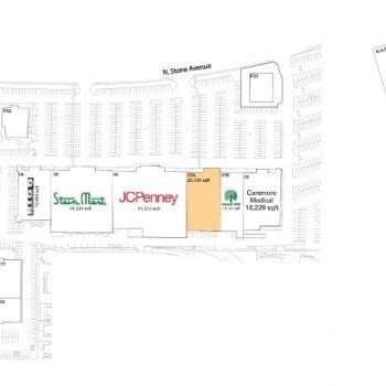 Plan of mall Northmall Centre