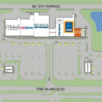 Plan of mall Northpoint Shopping Center