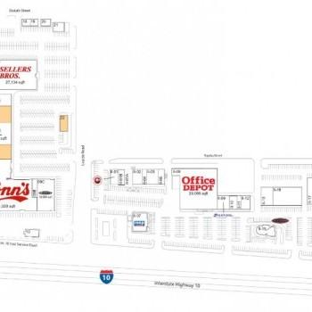 Plan of mall Northshore